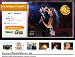 The millionaire matchmaker dating site